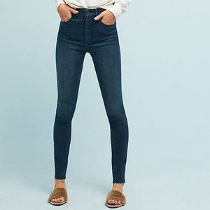 Anthropologie Pilcro High-Rise Jeans Frayed Hem
